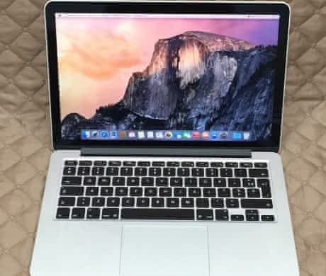 Macbook Pro 13 Retina, rok 2012, 8GB RAM, 256GB SSD