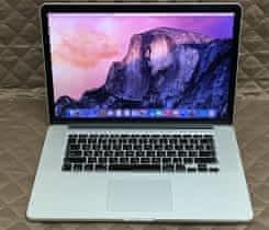 Macbook Pro 15, rok 2013, 8GB RAM, 256GB SSD
