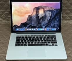 Macbook Pro 15 Retina, rok 2015, 16GB RAM, 512GB SSD