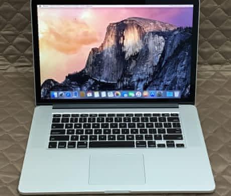 Macbook Pro 15 Retina, rok 2015, 16GB RAM, 512GB SSD