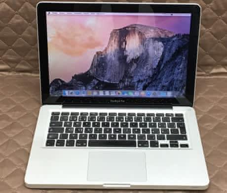 Macbook Pro 13, rok 2011, i7, 4GB RAM, 512GB SSD