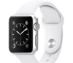 Apple Watch sportovní řemínek bílý