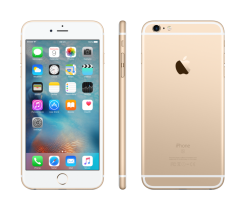 Zánovní Apple iPhone 6S plus 64GB GOLD