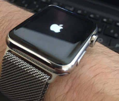 Prodám Apple Watch 42mm Stainless Steel