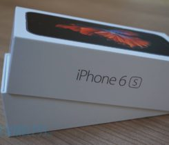 iPhone 6s 64 GB space gray továrni folii