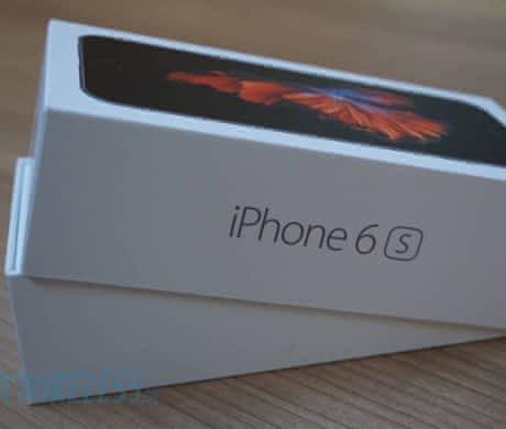 iPhone 6s 64 GB space gray továrni folii