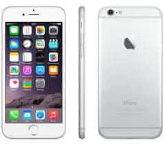 Iphone 6s 16 gb silver TOP stále v záruc