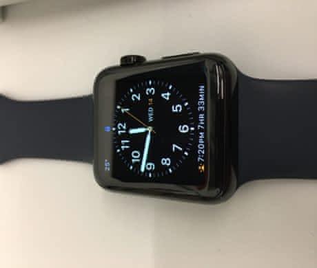 Apple Watch 42mm Black Stainless Steel