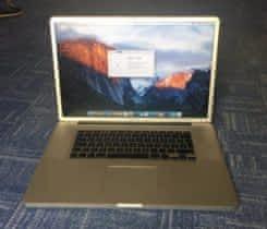 """MacBook Pro 17"""" CZ"""