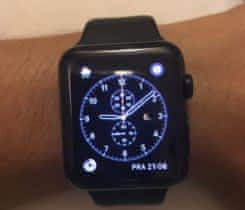Apple watch 42 mm Black Stainless Steel