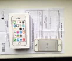 iPhone 5S 32GB zlatý, nepoužitý