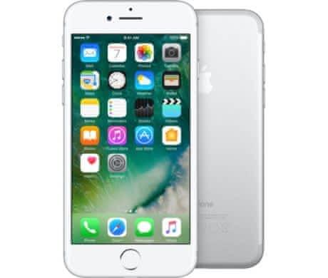 VÝMĚNA iPhone 7 128 GB Silver za Black