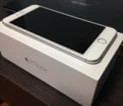 iPhone 6 Plus 64GB Silver, nový, zár 24m