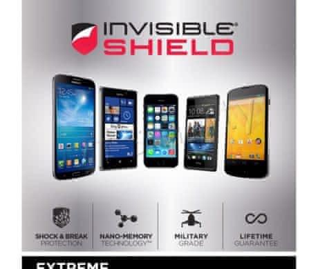 Invisible shield (celé tělo)  iPhone 4s