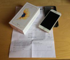 iPhoner 6s Gold-32GB-stav nového,záruka!