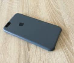 Apple silikonový kryt šedý, iPhone 6, 6S