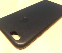 Kožený obal na iPhone 6/6S Černý