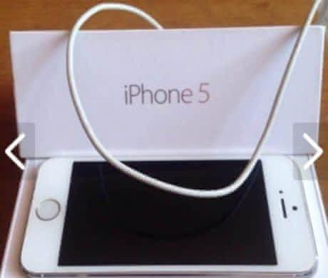 Nepoužívaný iPhone 5 – 16 GB