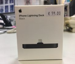 Nový iPhone Lightning Dock Black