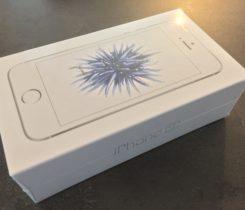 iPhone SE 16 GB Silver nový, nerozbalený