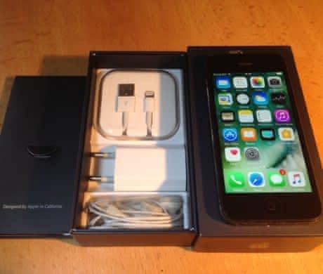 Apple iPhone 5 16GB, černý