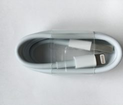 Apple lightning to USB kabel 1m