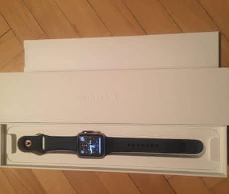 Apple Watch 2 Růžově zlatá + pouzdro