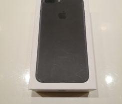 Iphone 7 plus  128 GB black mate