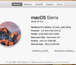 "MacBook Pro 13""/2,4GHz/8GB/256SSD"