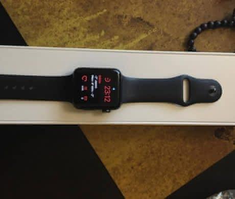 Apple Watch S2 Sport Black