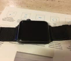 Milanese Loop Cierny pre 42mm  Watch