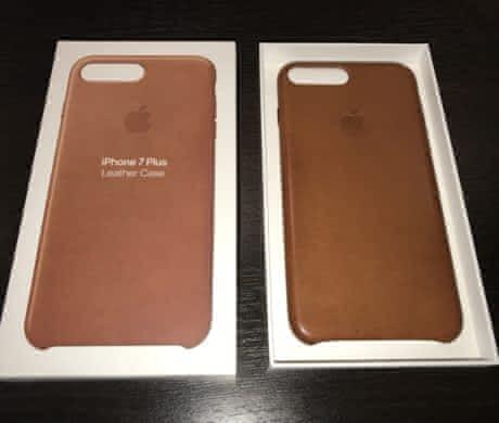 Kožený kryt na iPhone 7 Plus – hnědý