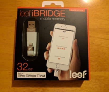 Leef iBRIDGE USB 2.0 Lighting 32GB White