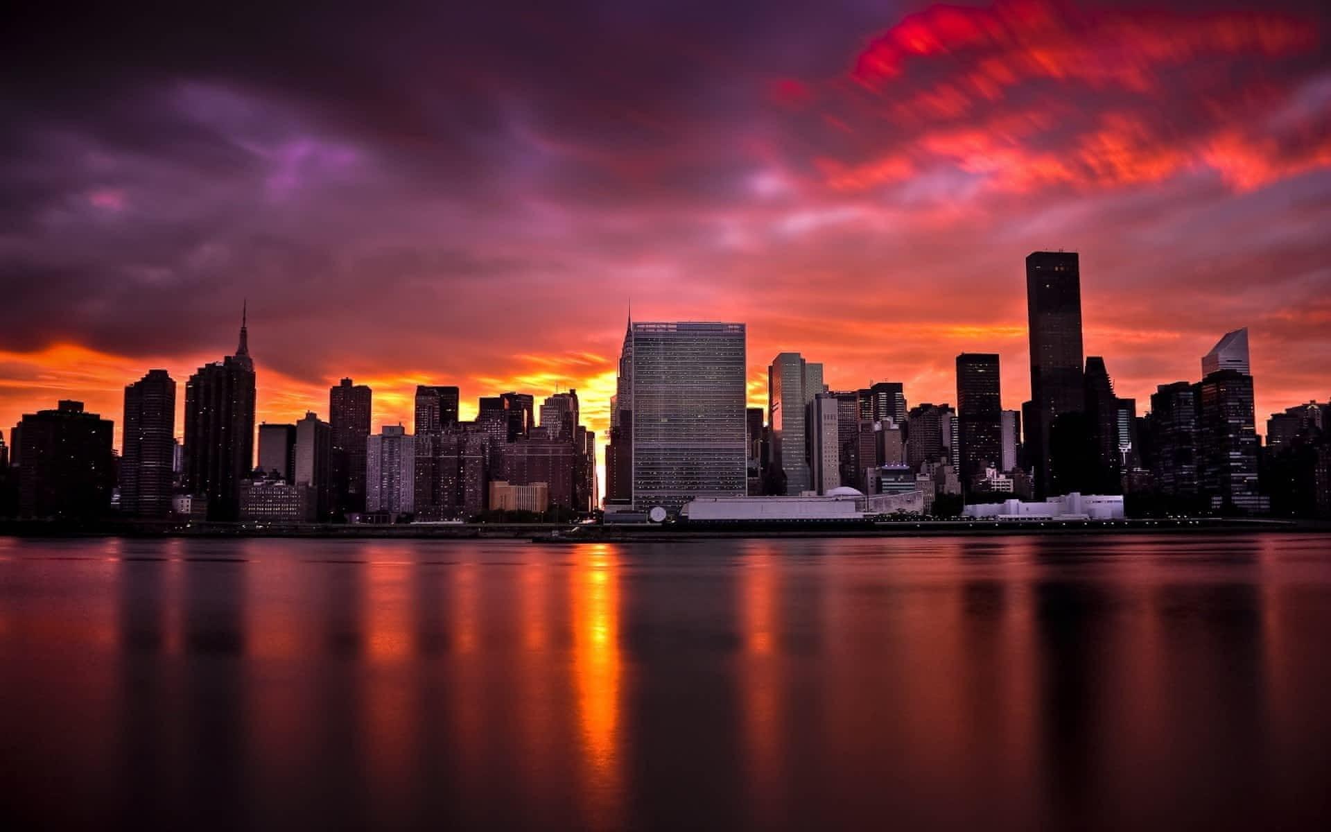 игре город рассвет фото обои на телефон встать перед зеркалом