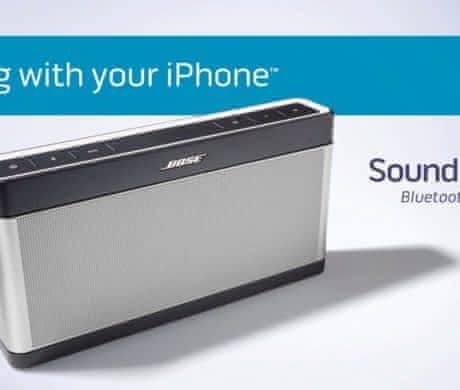 New Bose SoundLink Bluetooth speaker III