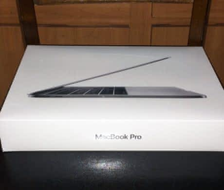Apple Macbook pro 256GB with Touch Bar