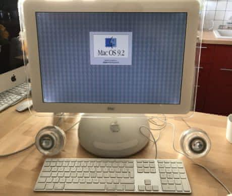"Apple iMac 17"" Lampička"