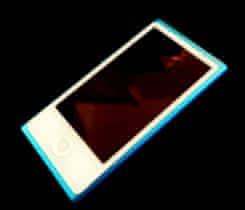 MP3 přehrávač APPLE iPod nano 16GB, modr