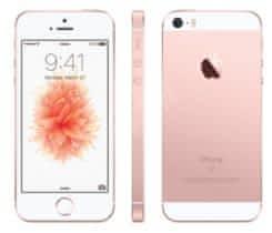iPhone SE 16GB růžově zlatý