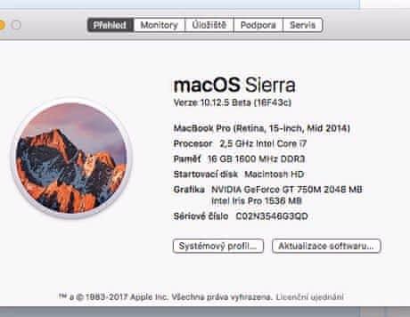 "Macbook Pro 15"" Retina Early 2013"