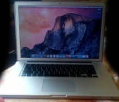 """Macbook Pro 15"""" nový SSD disk a baterka"""