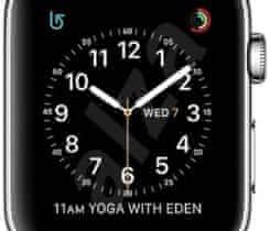 Apple Watch Serie 2 Nerez a milánský tah