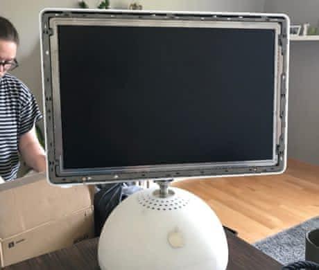 "iMac G4 lampička 17"""