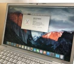 "Macbook PRO 15"", 4GB Pamate, 80GB SSD"