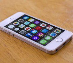Iphone 5s silver white 100%stav
