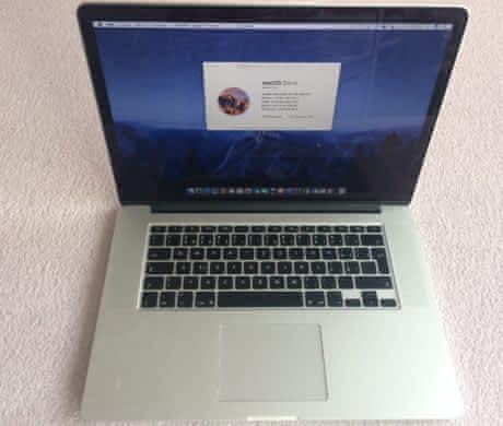 Zánovní MacBook pro s retinou