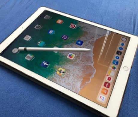 iPad pro 12.9, 128gb, GOLD +apple pencil