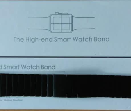 Pásek z nerezové oceli Apple Watch 42mm
