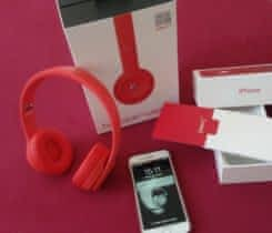 iPhone 7 Red 128gb + Beats Solo3 Red