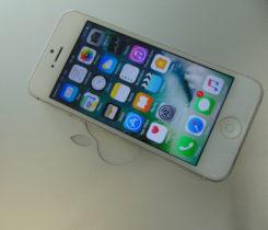 iPhone 5,  16 Gb, Stříbrný